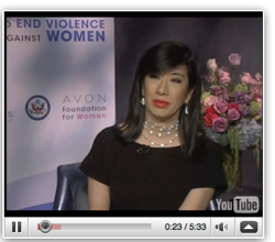 Avon CEO Andrea Jung; Photo courtesy of Avon PR Newswire