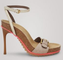 Stella McCartney Cork Sandals; Photo courtesy of StellaMcCartney.com