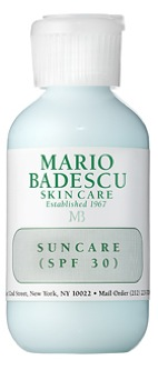 Mario Badescu Suncare SPF 30; Photo courtesy of Mario Badescu