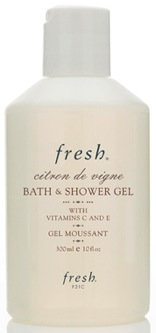 Fresh Citron de Vigne Bath & Shower Gel; Photo courtesy of Fresh.com