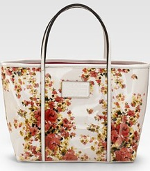 Dolce & Gabbana Floral Tote; Photo courtesy of Saks.com
