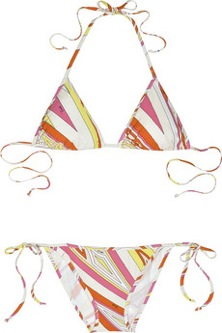 Emilio Pucci bikini; Photo courtesy of Netaporter.com