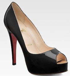 Christian Louboutin heels; Courtesy of Saks