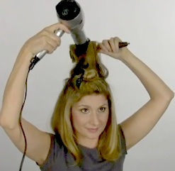 DIY Blow Dry; Courtesy of Mark Garrison Salon