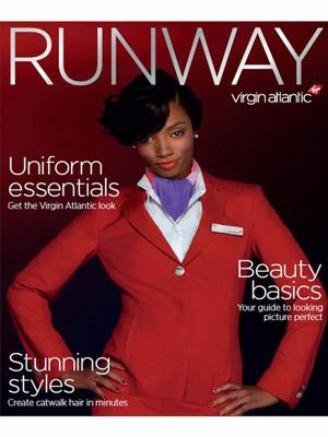 Flight Attendant Beauty Rules // Courtesy of Virgin Atlantic