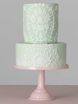Floral Details Floral Cake