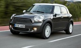 Mini is expanding its U.S. lineup with the Countryman crossover, which goes on sale in December. (Photo courtesy of MINI.)