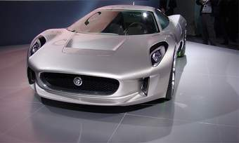 Jaguar is studying the possibility of building the C-X75. (photo courtesy of Greg Migliore)