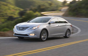 2011 Hyundai Sonata Turbo. Photo courtesy of Hyundai.