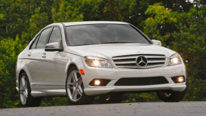 2010 Mercedes-Benz C-Class. Photo courtesy Mercedes-Benz.