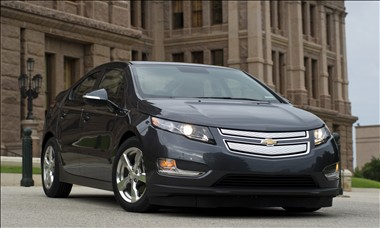 2011 Chevrolet Volt. Photo courtesy General Motors.