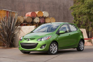 The 2011 Mazda 2. (Image courtesy Mazda.)