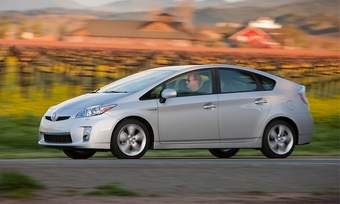A new member of the Toyota Prius family will be revealed in January at the Detroit auto show. The 2011 model is shown.(photo courtesy of Toyota)