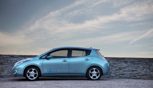 The 2011 Nissan Leaf. (Photo courtesy Nissan.)