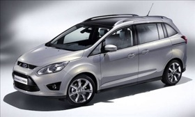 The Ford C-Max concept vehicle. (Photo courtesy of Ford.)