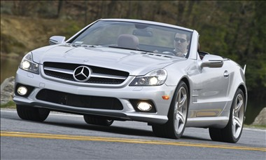 2009 Mercedes-Benz SL-Class (photo courtesy of Mercedes-Benz)