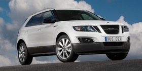 The Saab 9-4X. (Photo courtesy of Saab.)