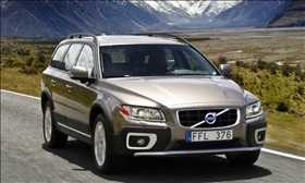 The Volvo XC70. (Photo courtesy of Volvo.)