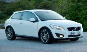 Volvo plans a new entry-level car derived from the C30, shown. (Photo courtesy of Volvo.)