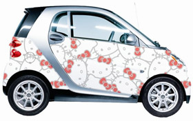 Hello Kitty Smart ForTwo