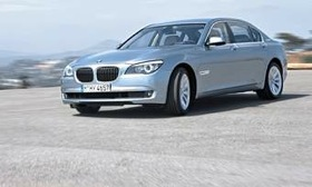 The BMW 7-Series. (Photo courtesy of BMW.)