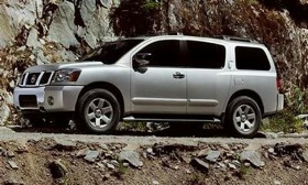 Nissan's recall includes the 2006 Armada SUV. (Photo courtesy of Nissan.)
