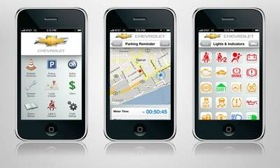 The myChevrolet and OnStar MyLink apps are free downloads. (Photo courtesy of AutoWeek.)