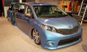 The Toyota Swagger Wagon Supreme--a minivan with maxi room. (Photo courtesy of AutoWeek.)