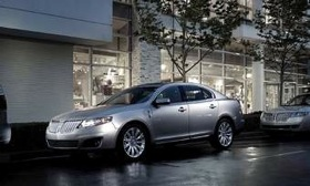 The 2011 Lincoln MKS. (Photo courtesy of Ford.)