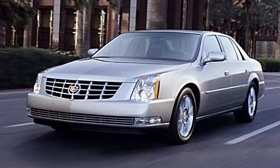 The Cadillac DTS. (Photo courtesy of GM.)