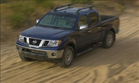 The Nissan Frontier. (Photo courtesy of Nissan.)