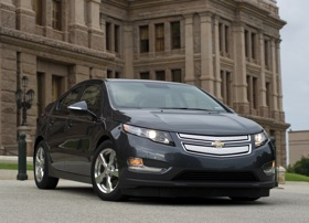 The Chevy Volt. (Photo courtesy of Chevrolet.)