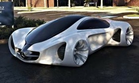 The Mercedes-Benz Biome concept. (Photo courtesy of AutoWeek.)