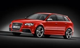 The Audi RS3 Sportback. (Photo courtesy of Audi.)