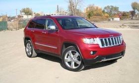 Jeep-brand sales rose 58 percent in November. The 2011 Jeep Grand Cherokee is shown.