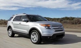 The redesigned 2011 Ford Explorer is a finalist for the North American Truck of the Year award. (Photo courtesy of Ford.)