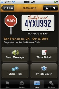 The DriveMeCrazy app allows motorists to issue virtual
