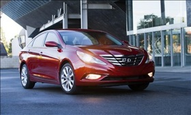 The Hyundai Sonata. (Photo courtesy of Hyundai.)