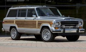 "A 1989 Jeep Grand Wagoneer. ""It's time we gave the market an upper-scale Grand Wagoneer,"" Chrysler CEO Sergio Marchionne said on Monday. (Photo courtesy of AutoWeek.)"