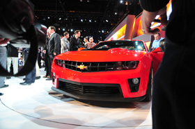 (2012 Chevrolet Camaro ZL1. Photo: Sam Smith/MSN Autos.)