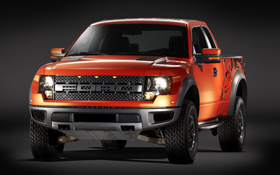 (2010 Ford F-150 SVT Raptor. Photo courtesy Ford.)