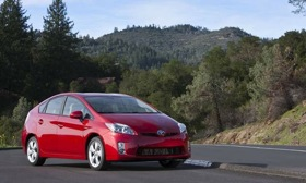 The Toyota Prius. (Photo courtesy of AutoWeek drivers log.)