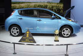 Nissan Leaf World Car of the Year