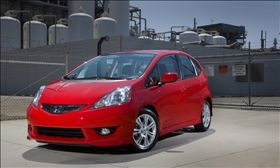 The Honda Fit was ranked as the cheapest car to maintain. (Photo courtesy of Honda.)