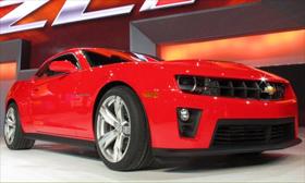 Фотографии нового американского суперкара Chevrolet