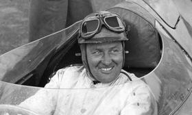 Jaguar test driver Norman Dewis. (Photo courtesy of JAGUAR HERITAGE/NORMAN DEWIS COLLECTION.)