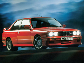 (1991 BMW E30 M3 Sport Evolution. Image courtesy BMW.)