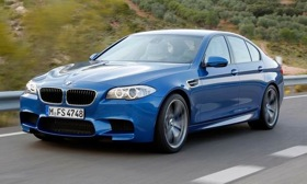 2012 BMW M5. (Photos courtesy of BMW.)