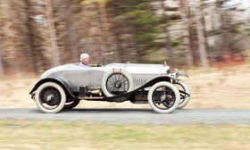 The 1921 Bentley Chassis 3. 