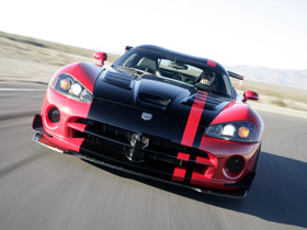(2008 Dodge Viper SRT-10 ACR. Image courtesy Chrysler.)